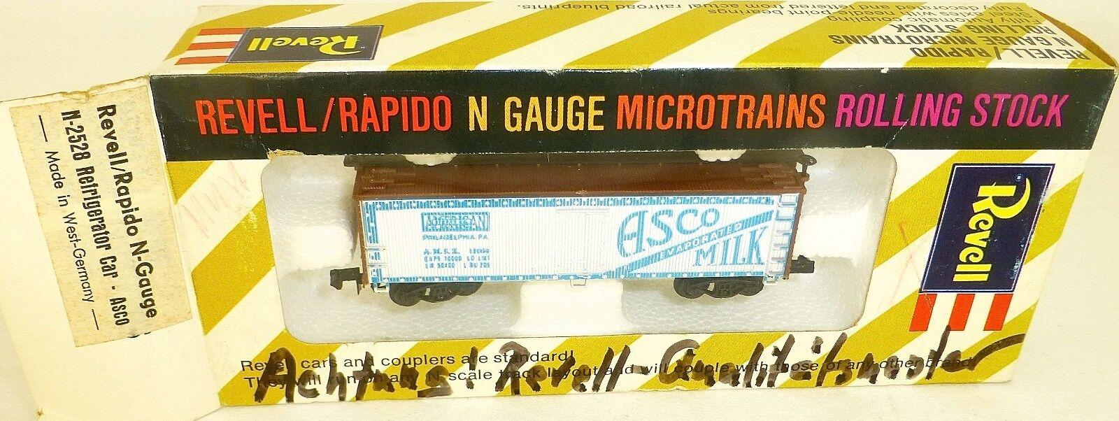 ASCO refrigerator car qual. muster revell rapido micro trains n-2528