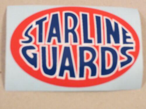 Speedway // Grasstrack STARLINE GUARDS  Sticker 72mm x 47mm