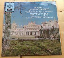 VINYL LP: RODRIGO Guitar Concerto NARCISO YEPES National Orchestra of Spain