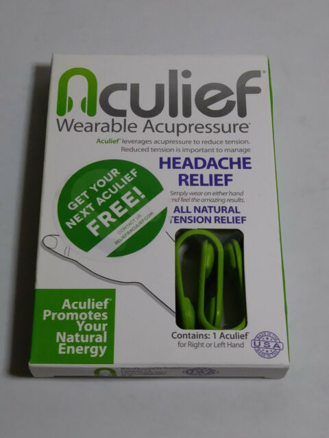 Aculief Natural Headache and Tension Relief Wearable ...