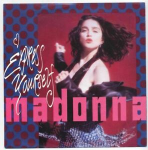 """7"""" Madonna: Express Yourself / The Look Of Love - 1989 - Moers, Deutschland - 7"""" Madonna: Express Yourself / The Look Of Love - 1989 - Moers, Deutschland"""