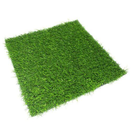 1 Pièces Art Pelouse Tapis GRASMATTE Pelouse Tapis Art Pelouse carré vert environ 3