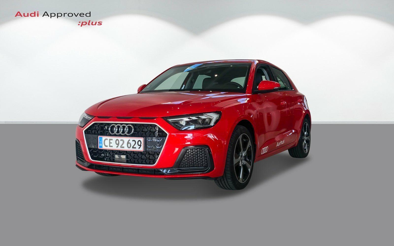 Audi A1 30 TFSi Advanced SB S-tr. 5d - 341.000 kr.