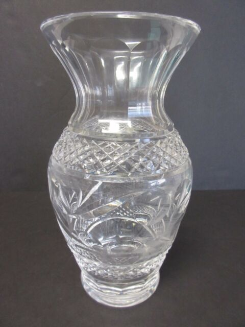 Waterford Crystal Giftware Collection Flower Vase 9 Swirl Pattern