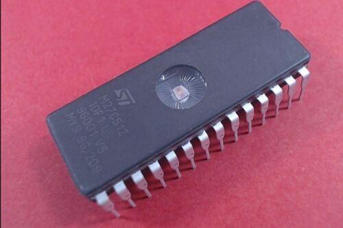 M27C512 EPROM UV 512K-Bit 64K x 8  28-Pin LOT 2702