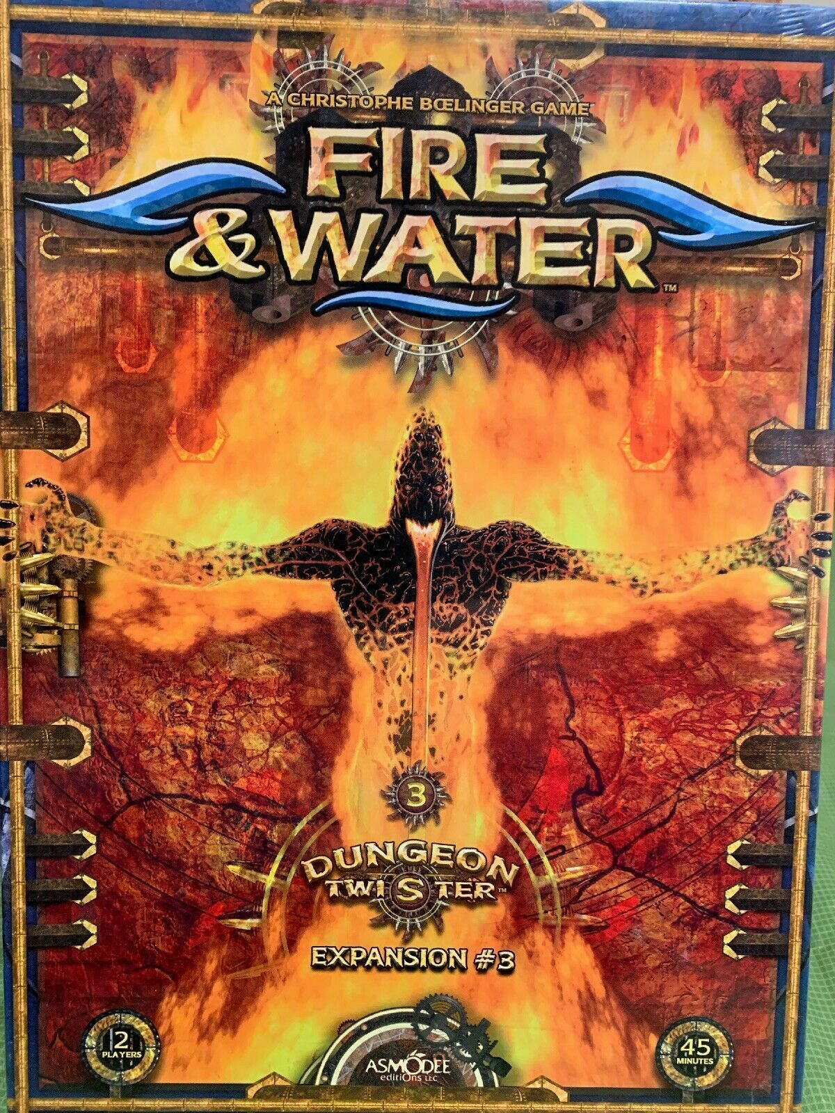 Dungeon Twister EXPANSION Fire & Water Board Game - NEW SEALED