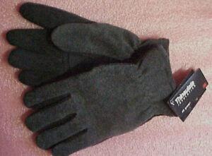 Soft-WARM-Deerskin-Deer-skin-Fleece-Thinsulate-gloves-NEW-fishing