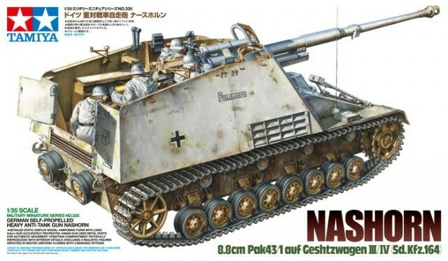 Tamiya 1 35 Nashorn 8.8cm Pak43 1 auf Geshtzwagen III IV Sd.Kfz.164