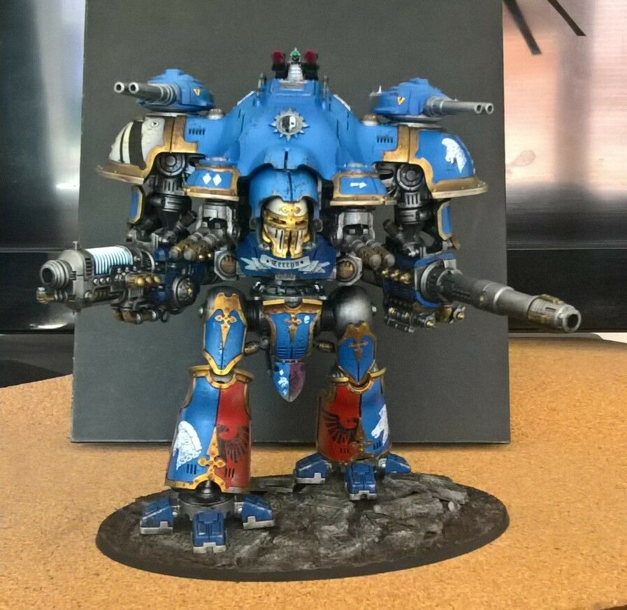 40k IMPERIAL KNIGHT CASTELLAN or VALIANT Pro   Well Painted Commision 2 Week