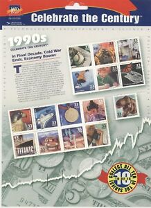 Stamps #3191 Your Choice MNH S Celebrate the Century 1990/'s 33¢ U