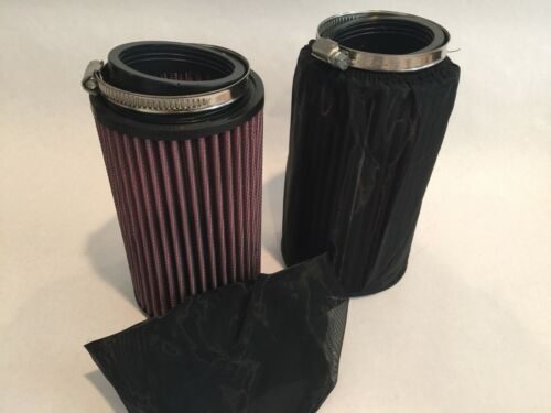 Yamaha Banshee K/&N Style Air Filters Filter Set Pre-Filters 26mm 26 Stock Carbs