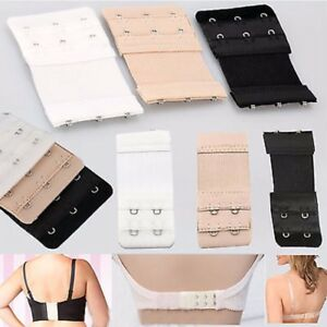 b2e002b38d 3x Bra Extender 2 Hooks 3 Hook Ladies Bra Extension Strap Underwear ...