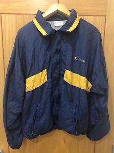 Men Jacket Large Windbreaker Blue Used Men's Casual Givenchy Vintage qzOaa8