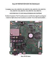 Easy DIY fix SONY TV Main Board KDL-40EX723, KDL-46EX720 ,KDL-46EX723