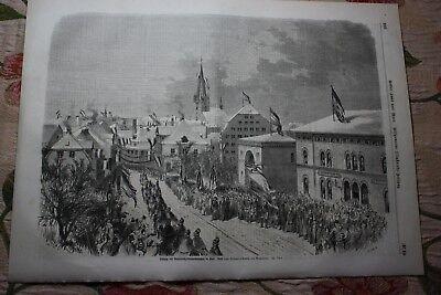 1864 Stich 18 / Kiel Bundesheer Mit Dem Besten Service