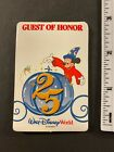 Walt Disney World Guest of Honor 25 Years 25th Anniversary Unpeeled Button Patch