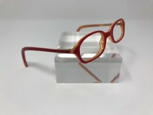 6ad8a3ed3b4 Asterix Eyeglasses AS188 C2 42-16-115 Red Orange Flex-Hinge Readers ...