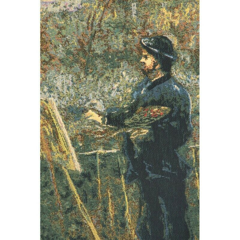 Monet Painting I I I by Monet European Tapestry Wall Hanging ccf9e6