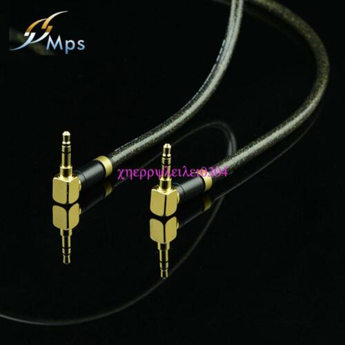 MPS E-100 Stereo 3.5mm to 3.5mm Hi Fi Audio Cable 6N OFC IPod Headphone IPHONE