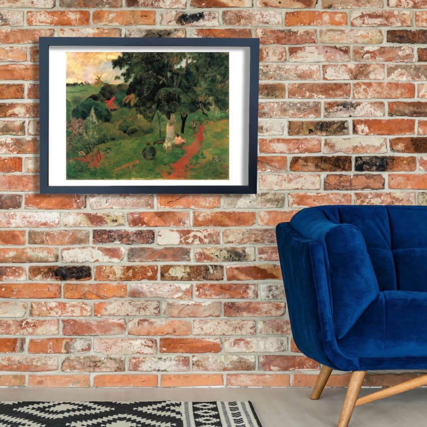 Paul Gauguin - Path in Trees Wall Art Poster Print
