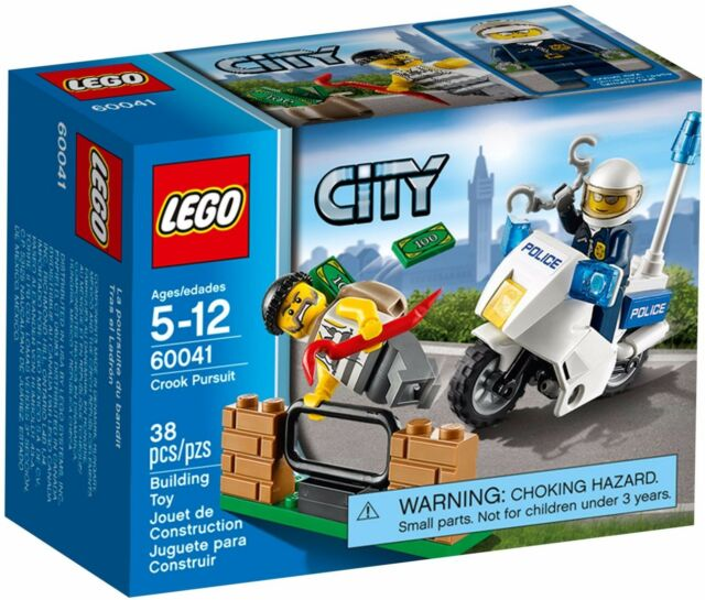 LEGO City Crook Pursuit (#60041)(Retired 2014)(Rare)(NEW)