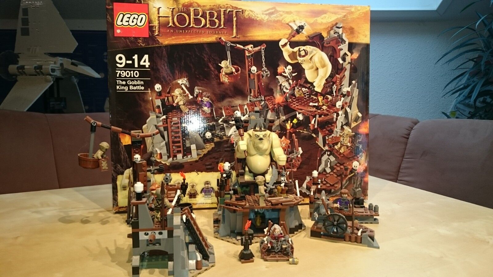 LEGO The Hobbit Höhle des Goblin Königs (79010)