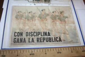 7 CON DISCIPLINA GANA L. CUPONES DE RACIONAMIENTO FALSO, CAMBADOS-GALICIA, 1937