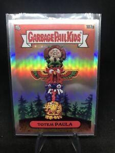 2020 Garbage Pail Kids Chrome Series 3 #107a Totem Paula