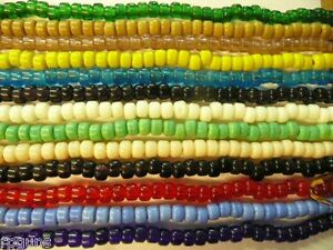 GLASS-CROW-BEADS-9-mm-ALL-COLORS-You-Choose-100-per-strand