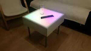 Fantastic Details About Modern Led Color Changing Coffee Table Decorative Sensory Unique Mood Light Download Free Architecture Designs Scobabritishbridgeorg
