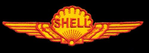 Shell Patch Motor Oil Hot Rod Automotive Mechanic Drag Race