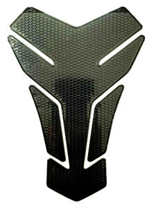 Tank Pad Protection Motorcycle Carbon Look Black Universal Honda Yamaha