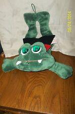 Russ Berrie Frogula Animated Light Up Hanging Plush Halloween Vampire Frog