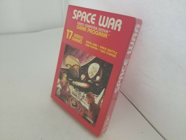 NEW NEAR MINT SPACE WAR GAME FOR ATARI 2600 USA NTSC  G45