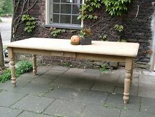 Tisch Esstisch Massivholz Esszimmer Landhaustisch 200 natur M03 Neu