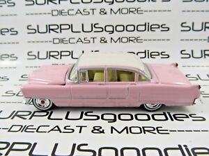 GREENLIGHT-1-64-Scale-LOOSE-Collectible-Pink-1955-CADILLAC-FLEETWOOD-Series-60