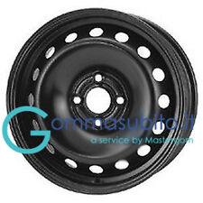Cerchi in ferro FIAT GRANDE PUNTO  - EVO 6.0x15 4x100 DISCO 15 OMOLOGATI+OMAGGIO