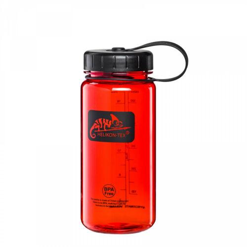 Helikon-Tex TRITAN BOTTLE Wide Mouth Wasserflasche 550 ml Rot