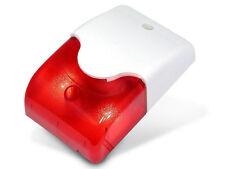Alarmsirene Alarm Sirene Signalgeber LED Blitzlicht 12V