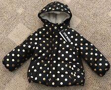 ceb26885133 item 4 Steve Madden Infant Baby Girl Black Rose Gold Polka Dot Jacket Coat  12 Months -Steve Madden Infant Baby Girl Black Rose Gold Polka Dot Jacket  Coat 12 ...