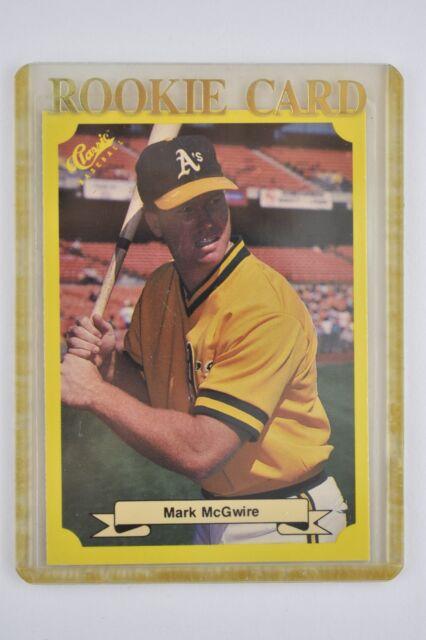 1987 Classic Mark Mcgwire 121 Baseball Card