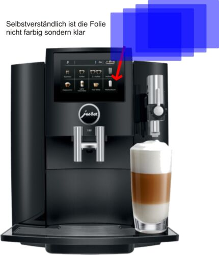 Jura 4x s80 15204 caffè pieno sportello automatico Pellicola Protettiva Proteggi Schermo AR displayfol