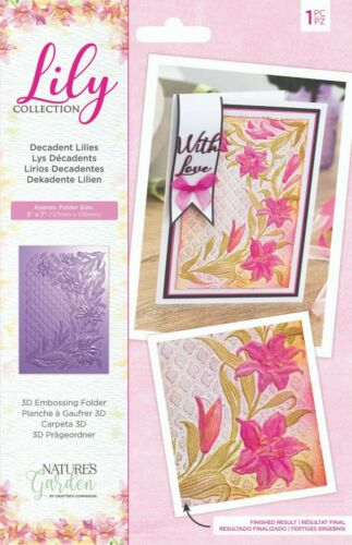 Crafters Companion Lily Collection Nature/'s Garden