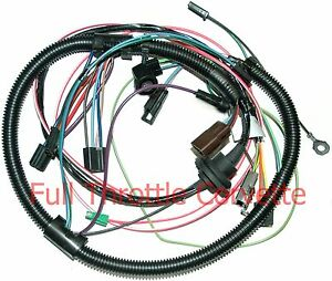image is loading 1979-corvette-air-conditioning-ac-wiring-harness-new-