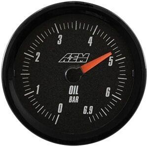 AEM ANALOG OIL PRESSURE GAUGE 6.9BAR 30-5133MB