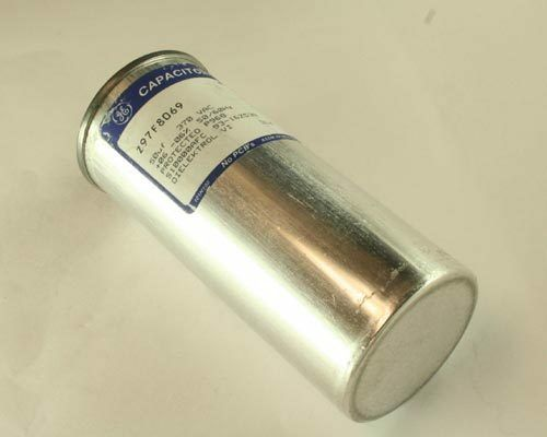 American Made GE 50uf 370vac Motor Run Capacitor Z97F8069