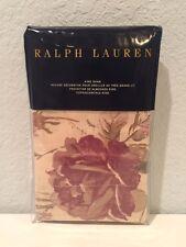 Ralph Lauren Wilton Rose Floral King Pillow Sham