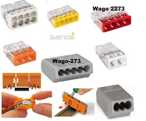 WAGO bornes 273-2273-doses Bornes-Fixation Adaptateur-Steckklemmen
