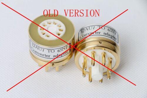 Heim-Audio & HiFi 2pc Gold plated 12AU7 12AX7 TO 6SN7GT B65 6SL7 ...