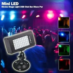 Details about 45LED Magic Sound Activated Strobe Stage Light Lamp KTV Party  Club Bar Disco DJ